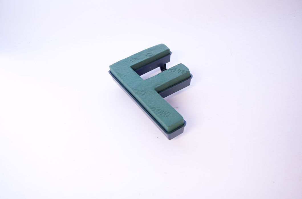 "Oasis Floral Foam Letter with Clips ""F"""