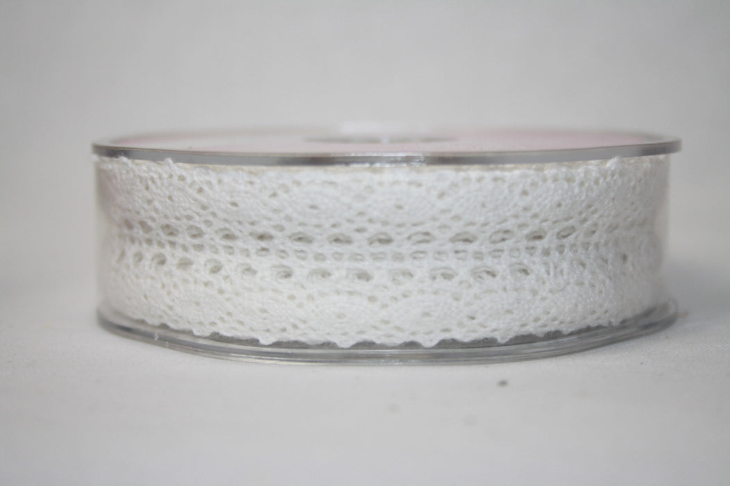 15mm x 20m Cotton Lace