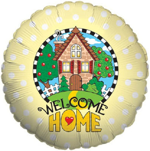 "18"" Foil Balloon - Welcome Home"