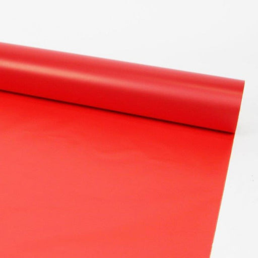 80m x 80cm Frosted Cellophane - Red