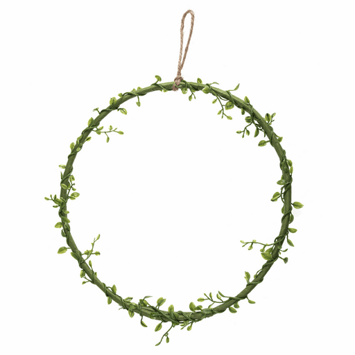 25cm Green Vine Wreath Base