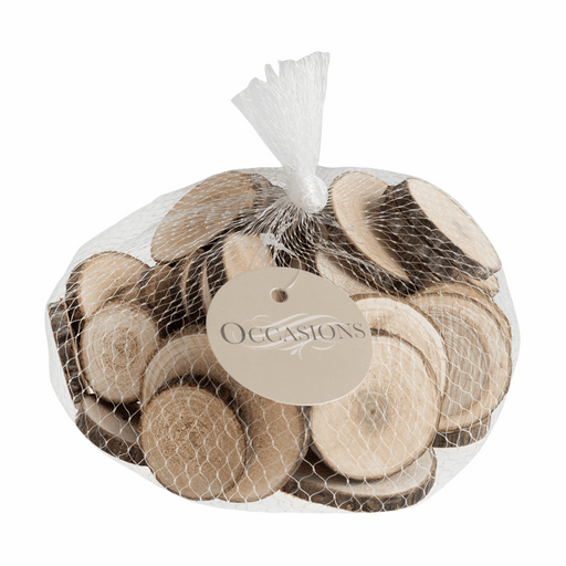Wooden Slices  Round 4-6cm - 200g