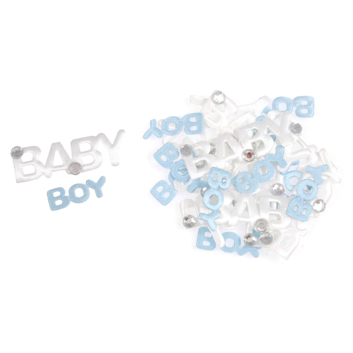 Craft Embellishments  Baby Boy Blue