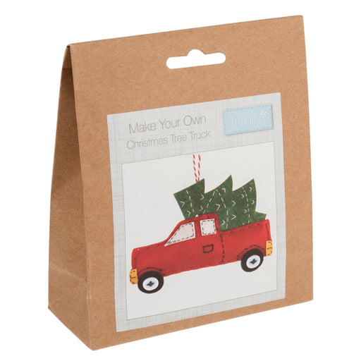 Make Your Own Felt - Christmas Tree Truck