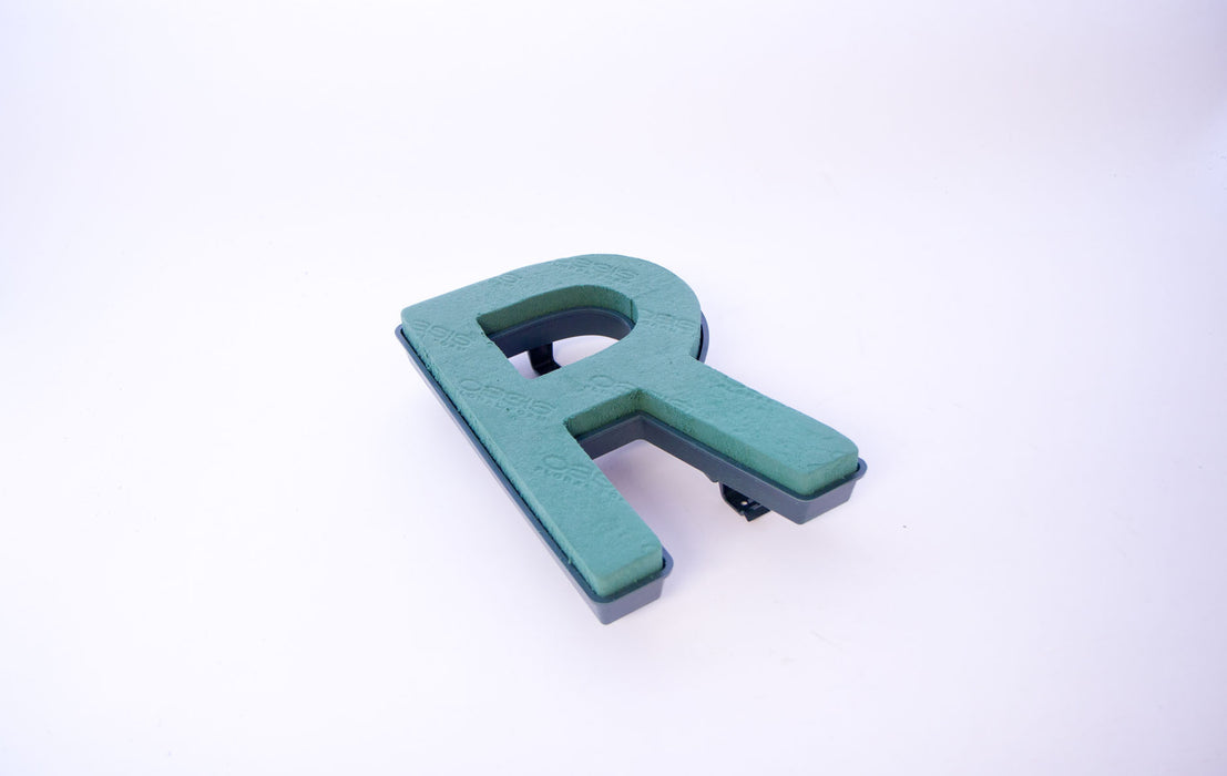 "Oasis Floral Foam Letter with Clips ""R"""
