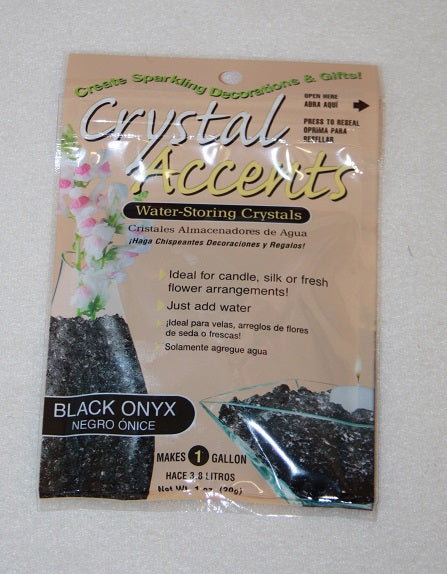 Black  Crystal Accents (30g)