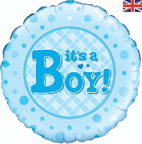 "18"" Foil Balloon - It's A Boy"