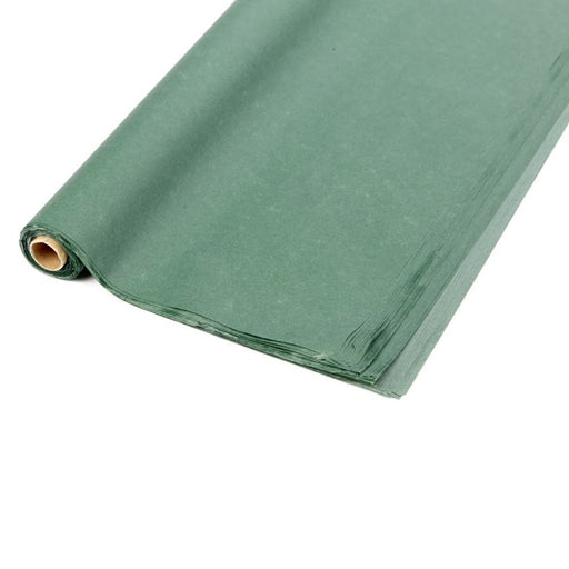 Roll of 48 Sheets of Tissue Paper Dark Green