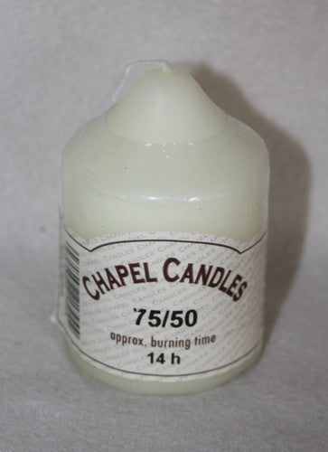 75mm x 50mm Chapel Candle