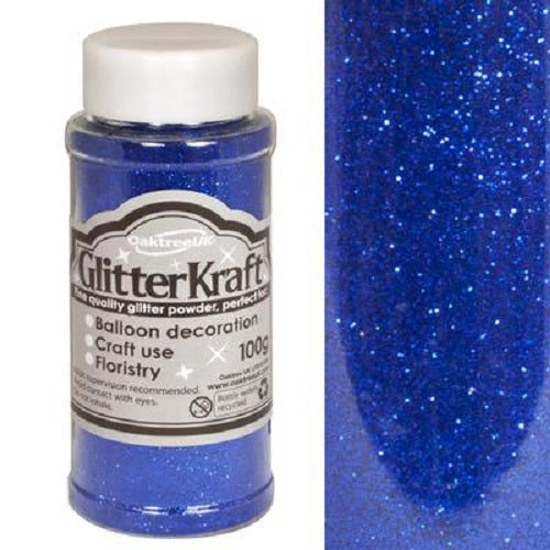 100g Glitter Pot - Royal Blue