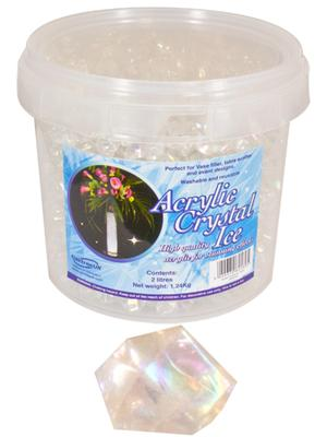 1.24kg of Iridescent  Acrylic Crystal Ice