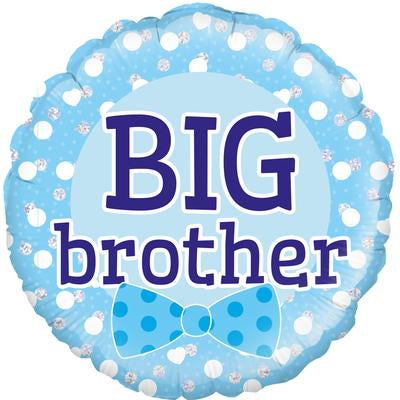 "18"" Round Foil Balloon - Big Brother"