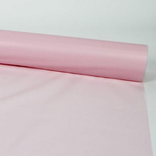 80m x 80cm Frosted Cellophane - Pale Pink