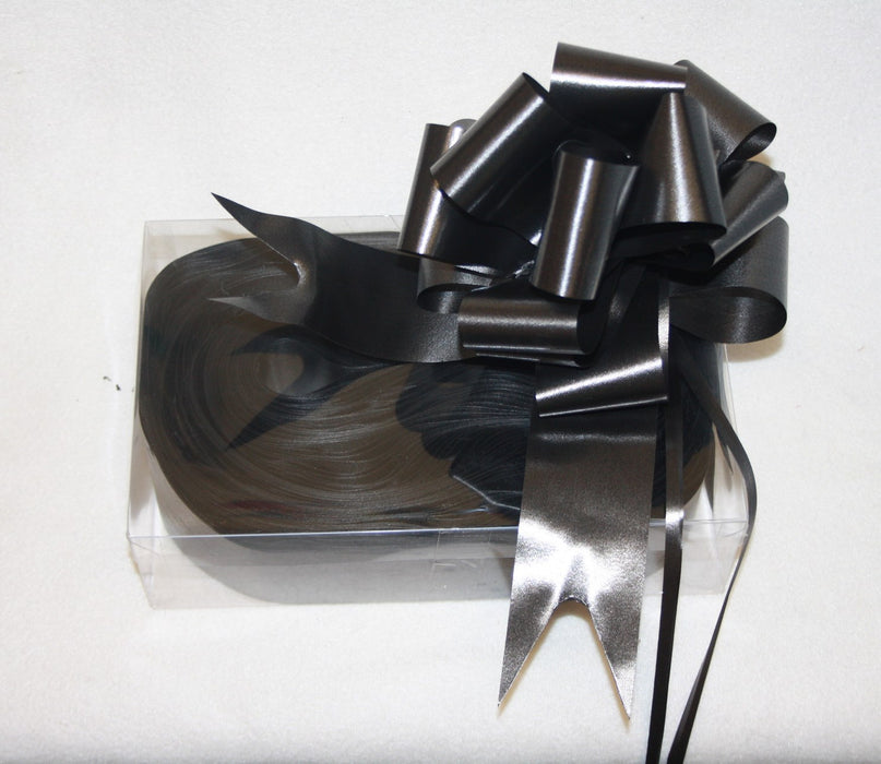 50mm black pullbowsx 20 pull bows