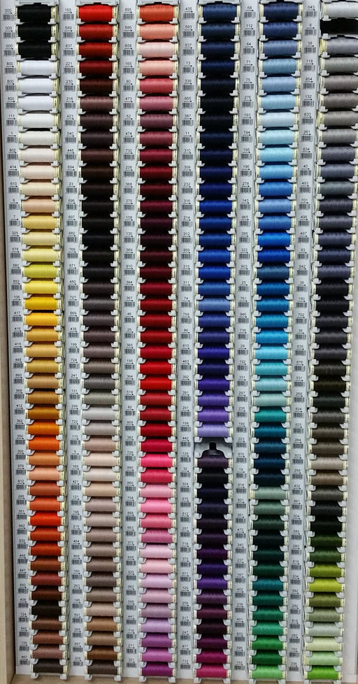 Gutermann Sew All Thread 100% Polyester x 100m - Black, Grey and Neutral Shades