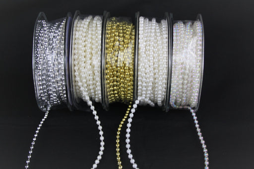 4 mm x 10 m Pearl Bead String