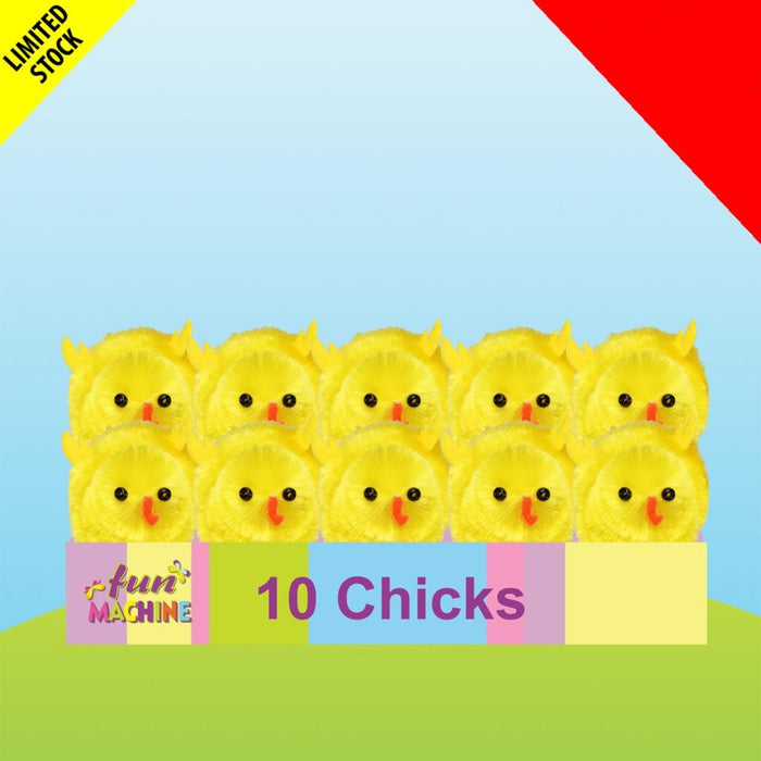 Pack of 10 Mini Chicks