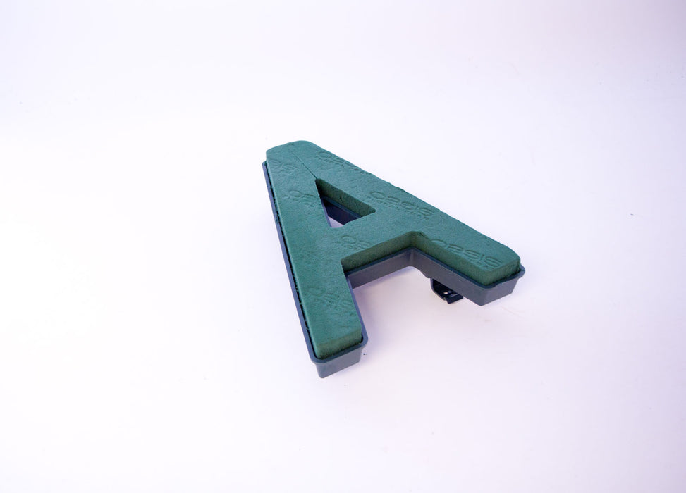 "Oasis Floral Foam Letter with Clips ""A"""
