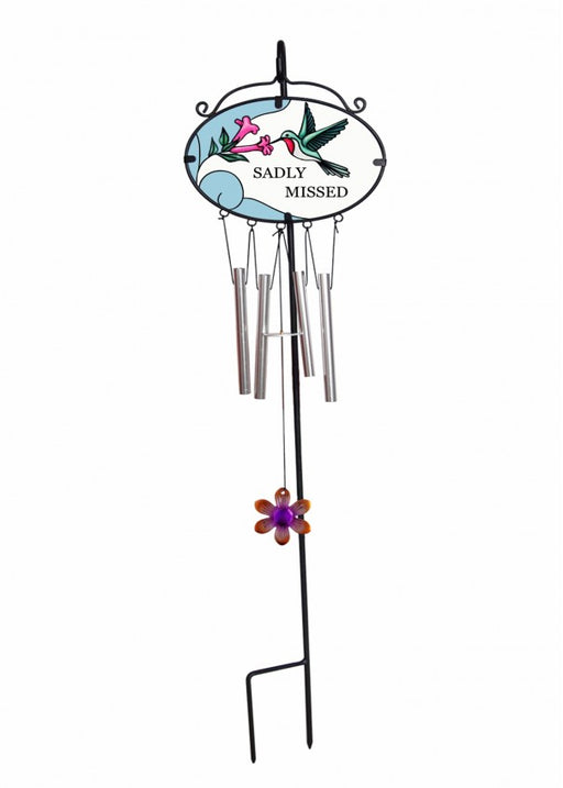 Always Loved & Sadly Missed Wind Chime 16x14cm