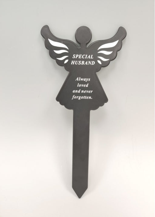 Plastic Black Angel Spike - Special Husband