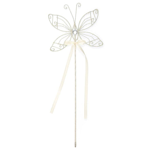 Butterfly with Ivory Gold Wand
