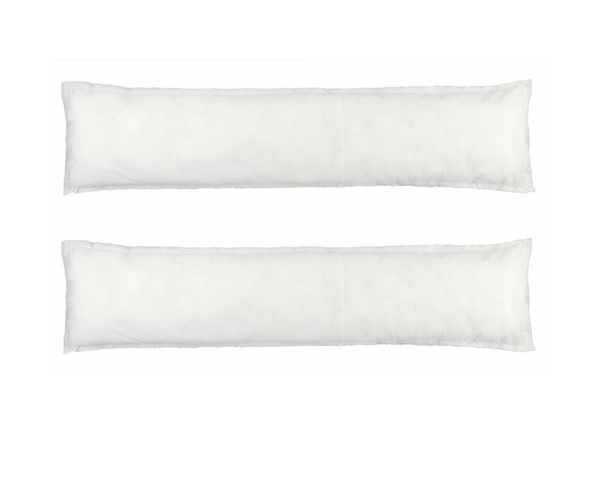 Draught Excluder Cushion Pad - 80 x 20cm - Pack of 2