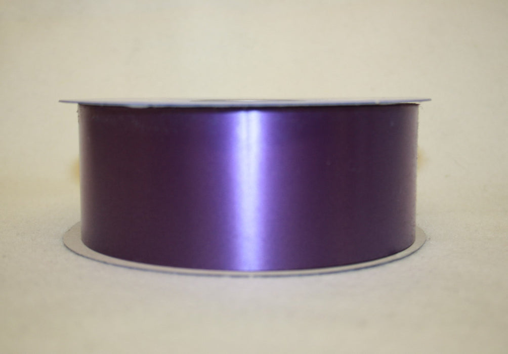"Purple Florist Poly Ribbon - 100 yards - 2"" Wide"