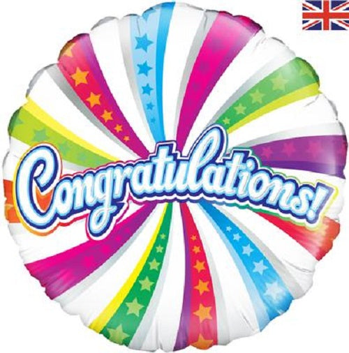 "18"" Foil Balloon - Congratulations !"
