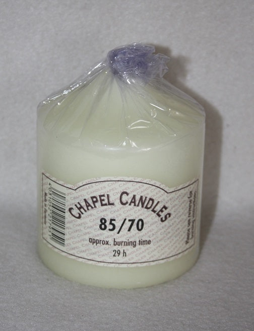 85mm x 70mm Chapel Candle
