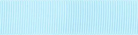 6mm x 20m Grosgrain Ribbon - Light Blue