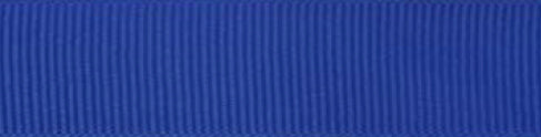 6mm x 20m Grosgrain Ribbon-Royal Blue