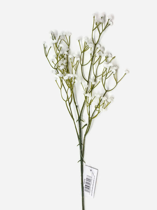 Single Stem Plastic White Gypsophila x 60cm