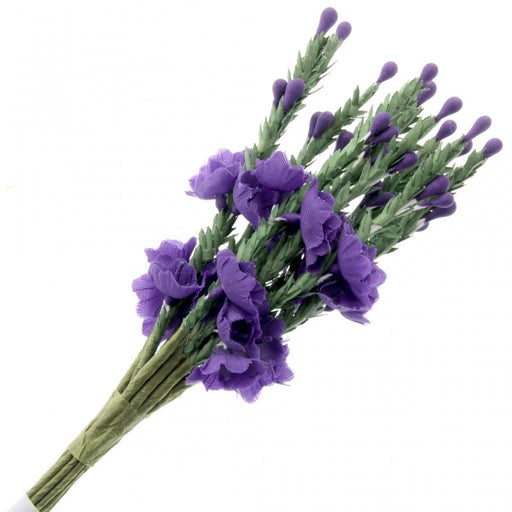 Purple Heather x 13cm - 12 Stems per Bunch - 6 Bunches per Pack