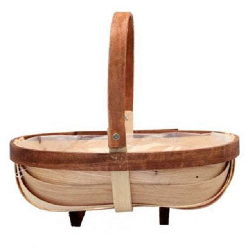 Large Trug with Folding Handle