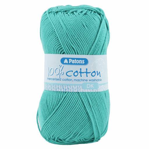 100% Cotton Yarn - Double Knitting x 100g - Jade