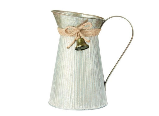 Jingle Jug With Jute Rope & Bell x 25cm