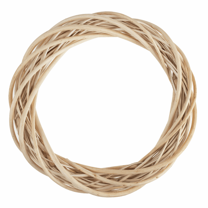 Wreath Base x 30cm - Light Willow