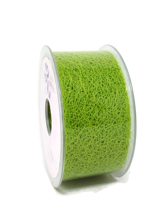Web Ribbon - 50mm x 20m - Lime Green