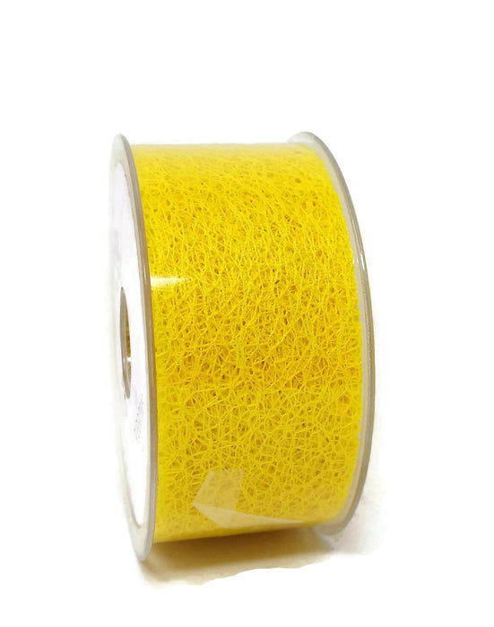 Web Ribbon - 50mm x 20m - Yellow