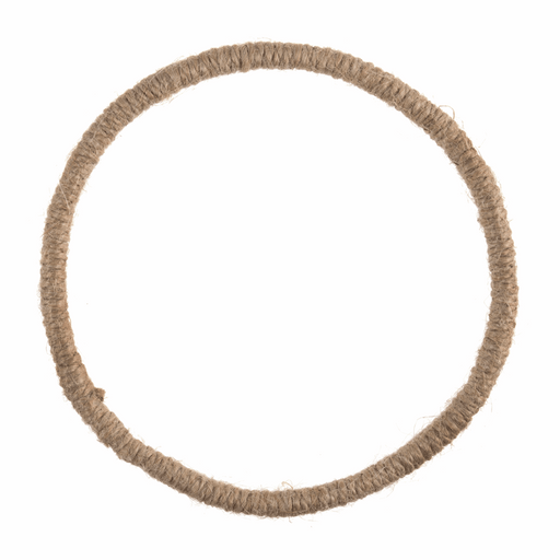 Mini Wreath Base - Jute Wrapped Wire x 14cm/5.5in
