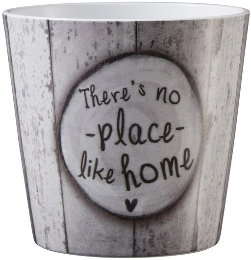 Home Ceramic Pot x 14cm -There's no Place Like Home