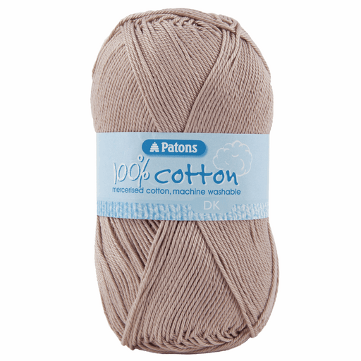 100% Cotton Yarn - Double Knitting x 100g - Raffia
