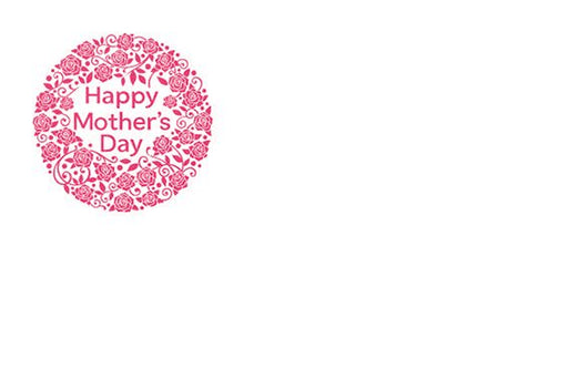 50 Mother's Day Flower Gift Cards -  Rose Ball