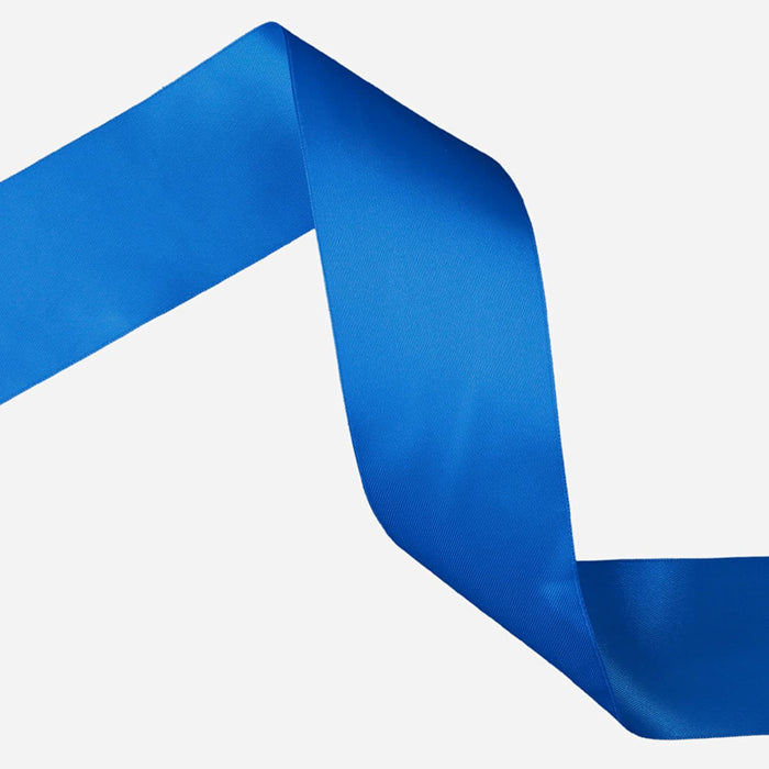 10mm x 20m Double Faced Royal Blue Satin Ribbon