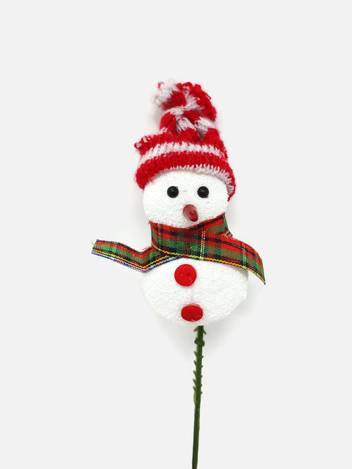 Single Snowman & Knitted Hat Pick