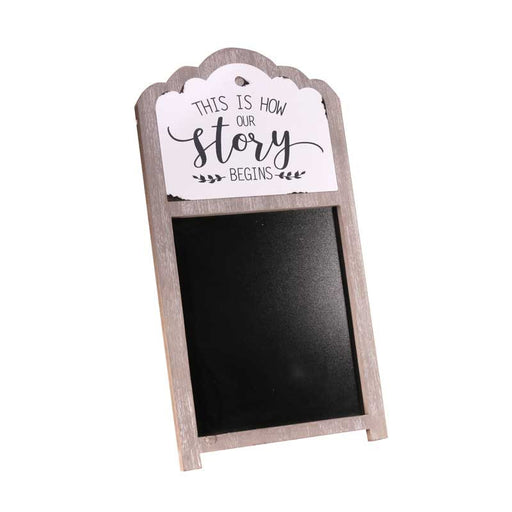 Wooden Blackboard Easel Wedding Sign x 54cm