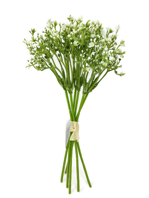 6 Stem Waxflower Berry Bunch x 65cm - Cream