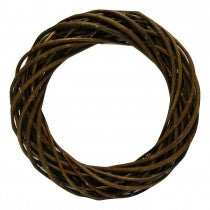 30cm Brown Willow Wreaths