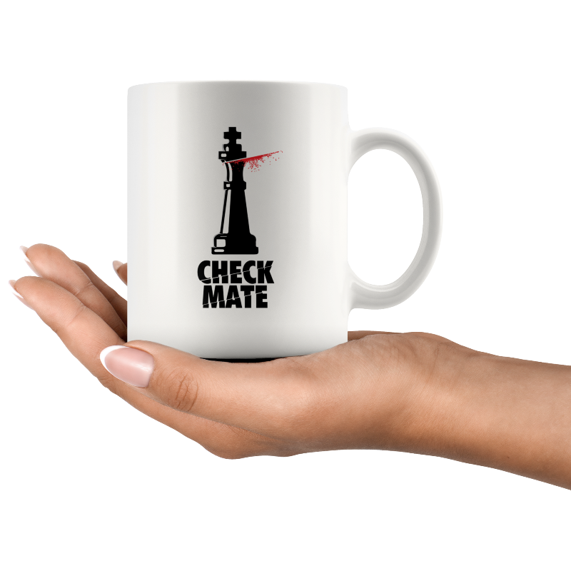 Chess mug Kill Bill