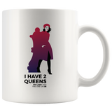 Chess mug 2 Queens